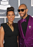 Alicia Keys, Swizz Beatz Royalty Free Stock Photo