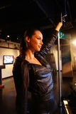 Alicia Keys Wax Figure Stock Photo