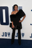 Alicia Quarles. NEW YORK-DEC 13: Alicia Quarles attends the Joy premiere at the Ziegfeld Theatre on December 13, 2015 in New York City Royalty Free Stock Photo