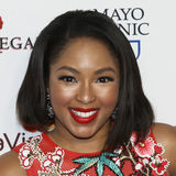 Alicia Quarles. TV personality Alicia Quarles attends the 14th Annual Woman`s Day Red Dress Awards at Jazz at Lincoln Center on February 7, 2017 in New York City Stock Photo