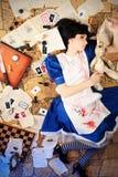 Alicia sangrienta fotografía de archivo libre de regalías
