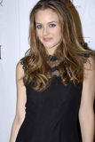 Alicia Silverstone on the red carpet. Stock Photos