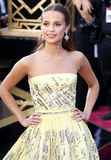 Alicia Vikander. At the 88th Annual Academy Awards held at the Hollywood & Highland Center in Hollywood, USA on February 28, 2016 Stock Photography