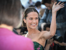 Alicia Vikander Royalty Free Stock Photography