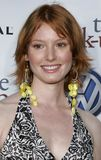Alicia Witt. WESTWOOD, CALIFORNIA. Monday May 22, 2006. Alicia Witt attends the World Premiere of `The Break-Up` held at the Mann Village Theatre in Westwood Royalty Free Stock Image