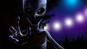 Alien / Инопланетянин Royalty Free Stock Photography