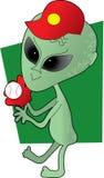 alien бейсбол Стоковые Фотографии RF