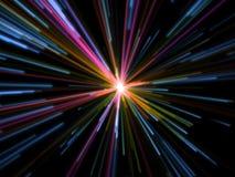 alien большая фантазия взрыва Стоковое Изображение RF