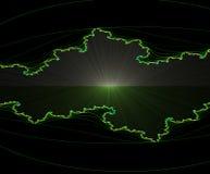 alien горизонт Стоковое Изображение RF