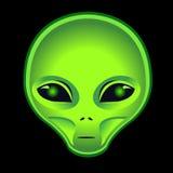 alien головка Стоковые Фото