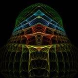 alien жилой дом Стоковое Фото