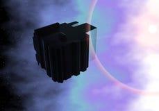 alien космический корабль-носитель Стоковые Изображения