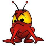 alien красный цвет Стоковые Изображения