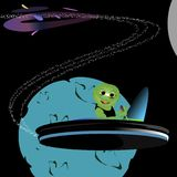 alien курсировать Стоковое Фото