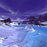 alien ландшафт Стоковое фото RF