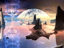 alien мир дистантной воды твари бесплатная иллюстрация