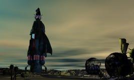 alien мир Стоковое фото RF