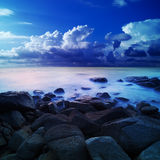 alien море рассвета Стоковая Фотография RF