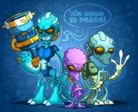 alien оккупанты Стоковая Фотография