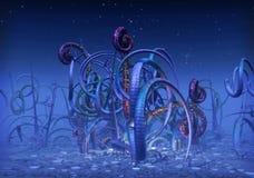 alien планета Стоковые Фотографии RF