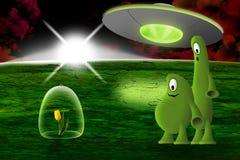 alien планета бесплатная иллюстрация