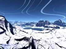 alien планета Стоковые Фото