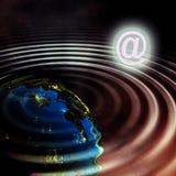 alien планеты Стоковое Изображение RF