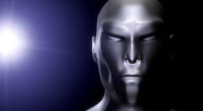 alien портрет Стоковое Фото