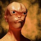 alien портрет Стоковая Фотография