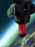 alien посещение Стоковое Изображение RF
