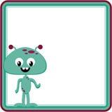 alien рамка счастливая Стоковые Фото