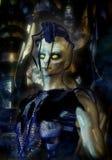 alien ратник Стоковое Изображение RF