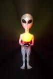 alien серебр Стоковое Фото