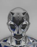 alien серебр Стоковое фото RF