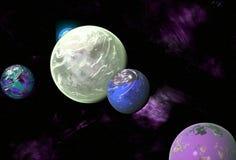 alien солнечная система иллюстрация штока