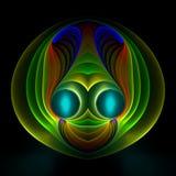 alien сторона счастливая Стоковое Фото