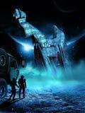 alien тайна Стоковое Изображение RF
