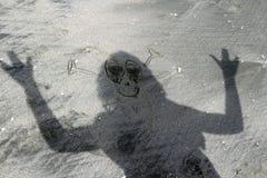alien тени стоковая фотография rf