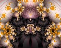 alien фракталь искусства Стоковые Фото