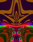 alien фракталь искусства Стоковые Изображения