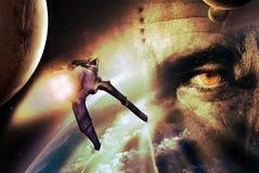 alien цивилизации Стоковые Фотографии RF