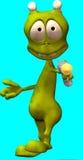 alien шарж Стоковая Фотография