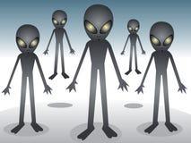 alien шатия Стоковое Изображение RF