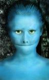 alien шуточный портрет Стоковое Изображение