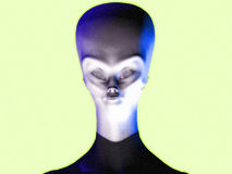 Alien 10 royalty free stock photos