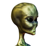 Alien. Body  3d art illustration concept Stock Photography