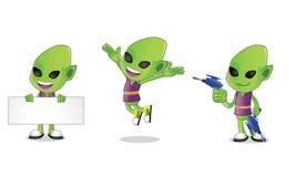 1 alien Απεικόνιση αποθεμάτων