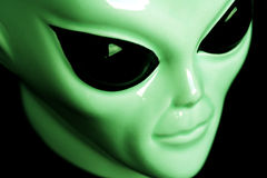 Alien. Face royalty free stock images