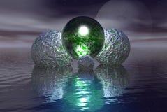 alien яичка Стоковое фото RF