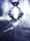 Alien Abduction Royalty Free Stock Images